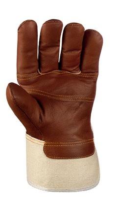 teXXor® Möbelleder-Handschuhe BRAUNE FARBEN 1113