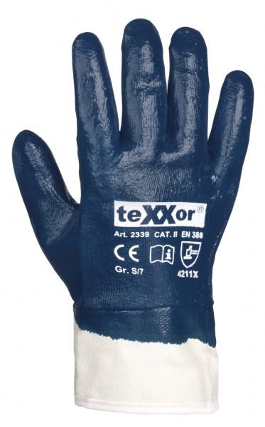 teXXor® Nitril-Handschuhe STULPE 2339
