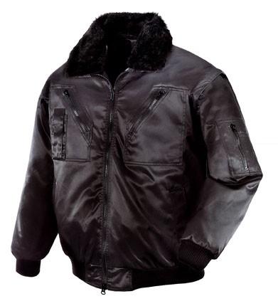 teXXor® Piloten-Jacke OSLO, schwarz 4176