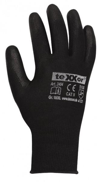 teXXor® Polyester-Strickhandschuhe POLYURETHAN BESCHICHTET 2404