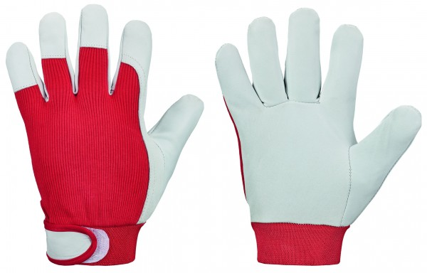 GOODJOB *RED NAPPA* GOODJOB® HANDSCHUHE, 0276