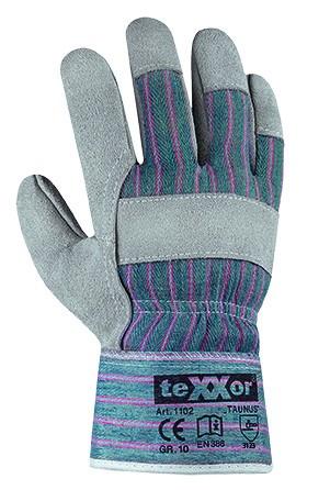 teXXor® Rindkernspaltleder-Handschuhe TAUNUS 1102