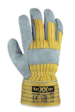 teXXor® Rindkernspaltleder-Handschuhe EIFEL 1103