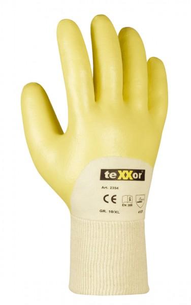 teXXor® Nitril-Handschuhe STRICKBUND 2354