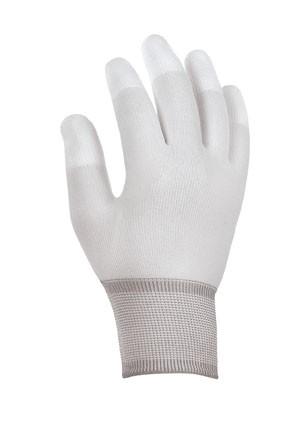 teXXor® Strickhandschuhe FINGERKUPPEN PU-BESCHICHTET 2410