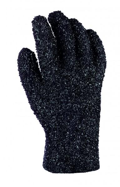 teXXor® PVC-Handschuhe SCHWARZ, GRANULIERT 2190