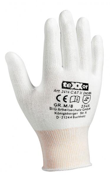 teXXor® Schnittschutz-Strickhandschuhe OHNE BESCHICHTG. 2414