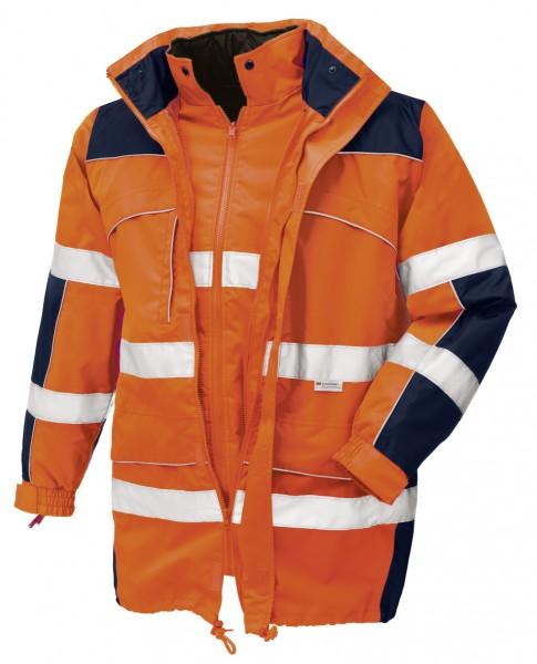 teXXor® Warnschutz-Parka TORONTO, leuchtorange/navy 4109