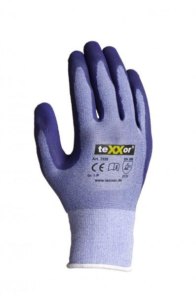 teXXor® Polyester-Strickhandschuhe LATEX 2229