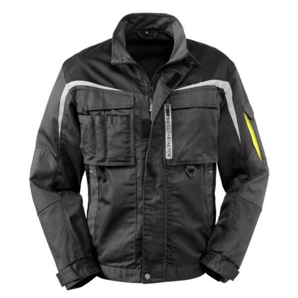 4PROTECT® Bundjacke ARKANSAS, schwarz/grau 3817