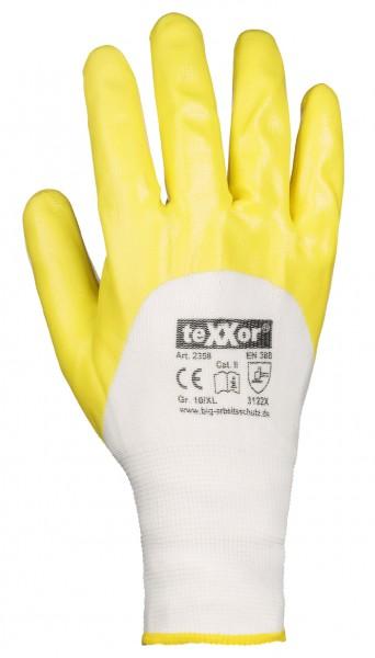 teXXor® Polyester-Strickhandschuhe NITRIL BESCHICHTET 2358