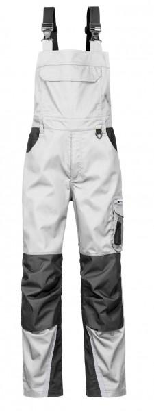 4PROTECT® Latzhose IOWA, weiß/grau 3834