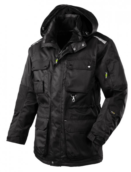teXXor® Winterjacke BOSTON, schwarz 4196