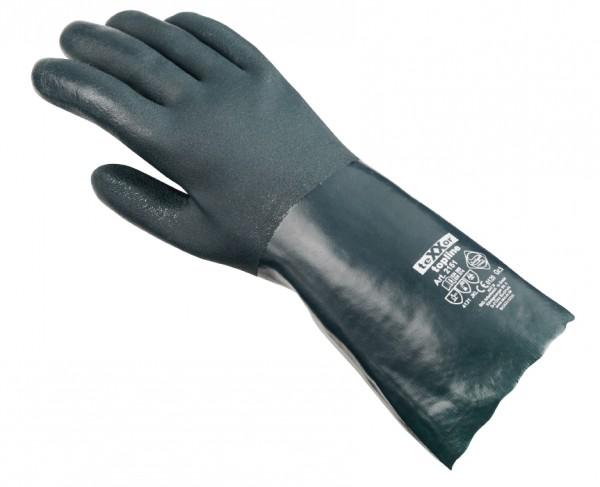 teXXor® Chemikalienschutzhandschuhe PVC GRÜN 2151