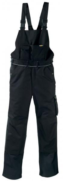 teXXor® Latzhose AMAZONAS, 320 g/m², schwarz/schwarz 8338