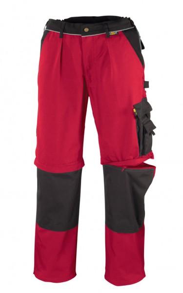 teXXor® 2-in-1 Bundhose TOBAGO, 320 g/m², rot/schwarz 8353