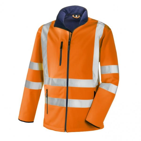 teXXor® Warnschutz-Softshell-Jacke NIAGARA, leuchtorange 4104