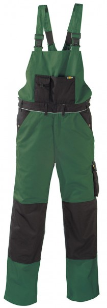 teXXor® Latzhose AMAZONAS, 320 g/m², grün/schwarz 8335