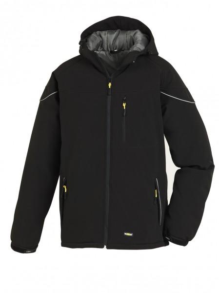 teXXor® Winter-Softshell-Jacke VAIL, schwarz 4138
