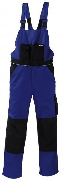 teXXor® Latzhose AMAZONAS, 320 g/m², kornblau/schwarz 8332