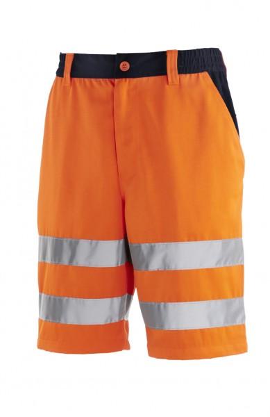 teXXor® Warnschutz-Shorts ERIE, leuchtorange/navy 4345