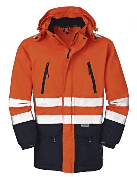 4PROTECT® Warnschutz-Jacke DETROIT, leuchtorange/navy 3400