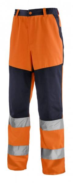 teXXor® Warnschutz-Bundhose ROCHESTER, leuchtorange/navy 4355