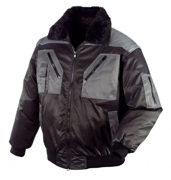 teXXor® Piloten-Jacke OSLO, schwarz/anthrazit 4170