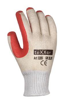 teXXor® Universalhandschuhe LATEXBESCHICHTET 2205