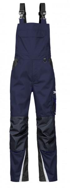 4PROTECT® Latzhose IOWA, navy/grau 3831