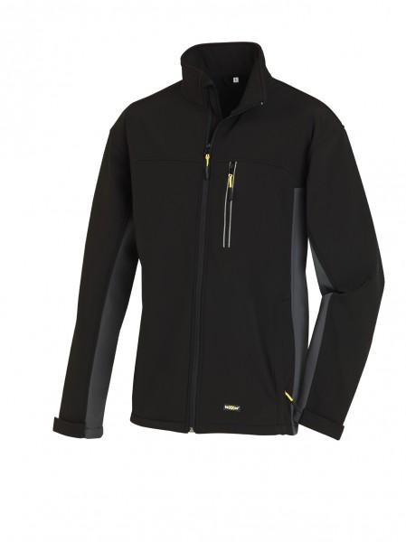 teXXor® Softshell-Jacke SKAGEN, schwarz/grau 4141
