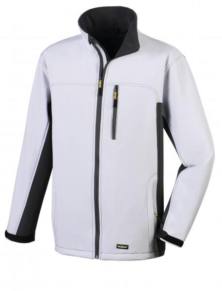 teXXor® Softshell-Jacke SKAGEN, weiß/grau 4144