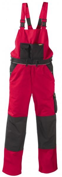 teXXor® Latzhose AMAZONAS, 320 g/m², rot/schwarz 8333