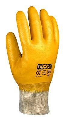 teXXor® Nitril-Handschuhe STRICKBUND 2357