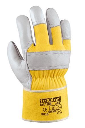 teXXor® TOP Rindvollleder-Handschuhe K2 1108