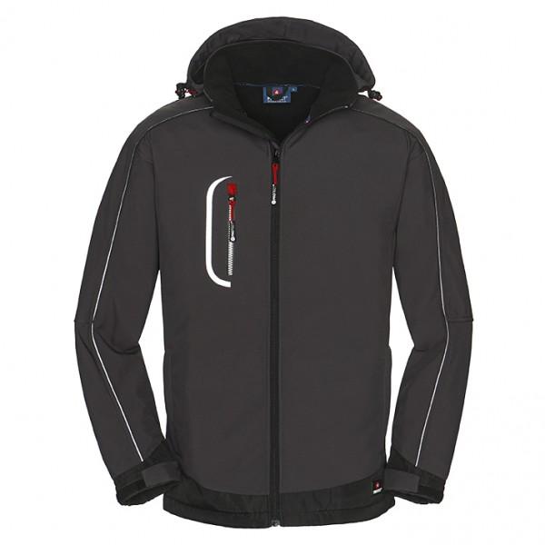 4PROTECT® Softshell-Jacke MONTANA, grau/schwarz 3390