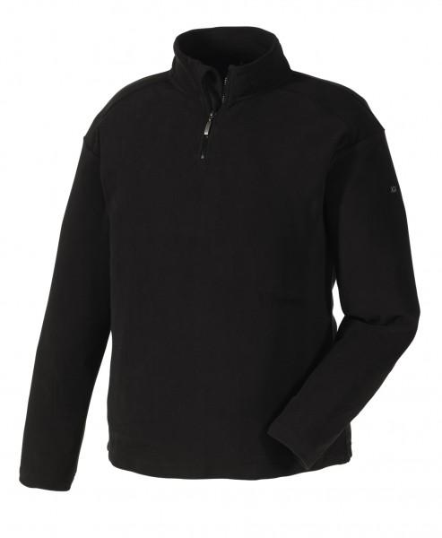 teXXor® Microfleece-Pullover STAVANGER, schwarz 8717