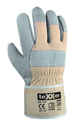 teXXor® TOP Rindkernspaltleder-Handschuhe RHÖN 1141