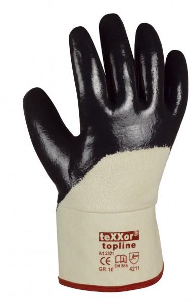 teXXor® Nitril-Handschuhe STULPE 2321