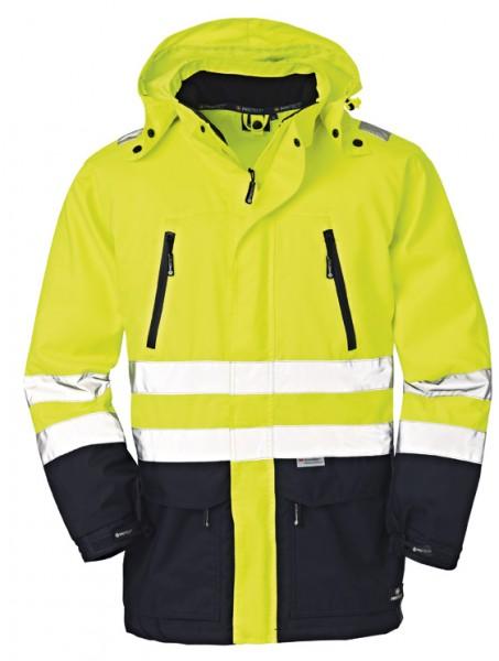 4PROTECT® Warnschutz-Jacke DETROIT, leuchtgelb/navy 3405