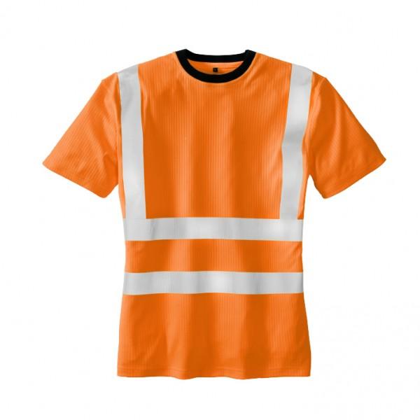 teXXor® Warnschutz-T-Shirt HOOGE, leuchtorange 7009