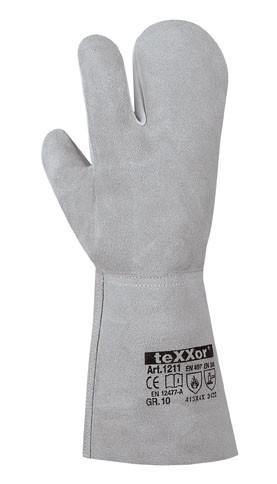 teXXor® 3-Finger Schweißerhandschuhe SANTORIN 1211
