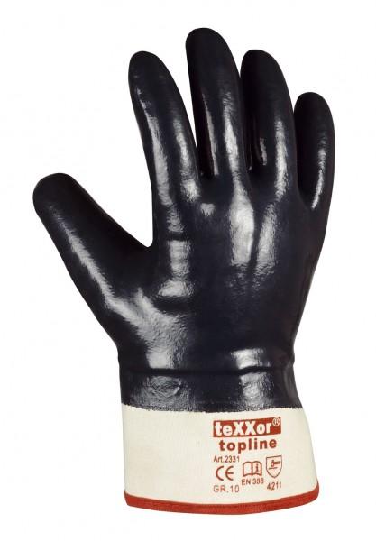 teXXor® Nitril-Handschuhe STULPE 2331