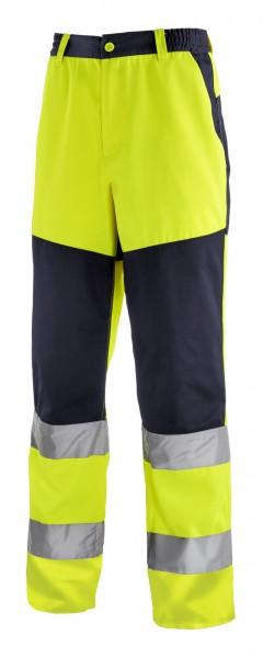 teXXor® Warnschutz-Bundhose ROCHESTER, leuchtgelb/navy 4356