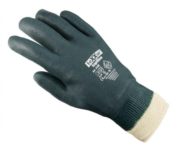 teXXor® PVC-Handschuhe GRÜN, MIT STRICKBUND 2155