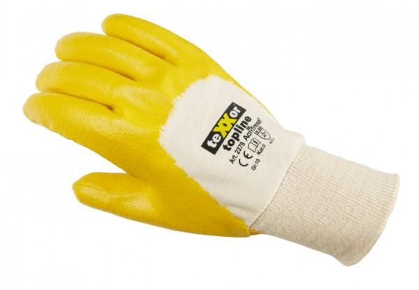 teXXor® Nitril-Handschuhe STRICKBUND 2379