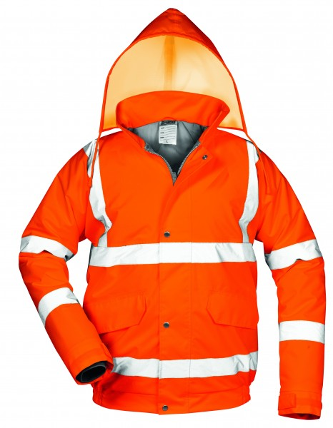 SAFESTYLE *EUGEN* WARNSCHUTZ PILOTJACKE ORANGE 23541