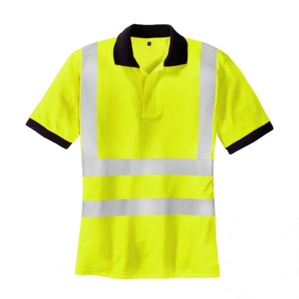 teXXor® Warnschutz-Polo-Shirt SYLT, leuchtgelb 7028