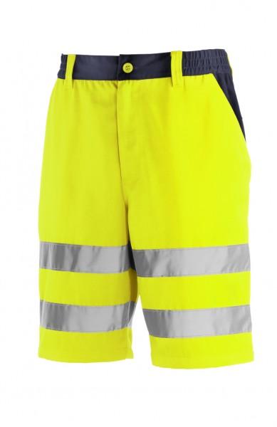 teXXor® Warnschutz-Shorts ERIE, leuchtgelb/navy 4346