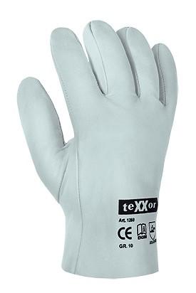 teXXor® Schafsnappa-Handschuhe VOLLLEDER 1260